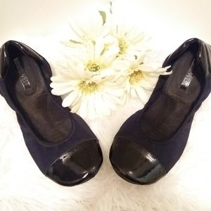 Nine West Black Foldable Ballet Flats